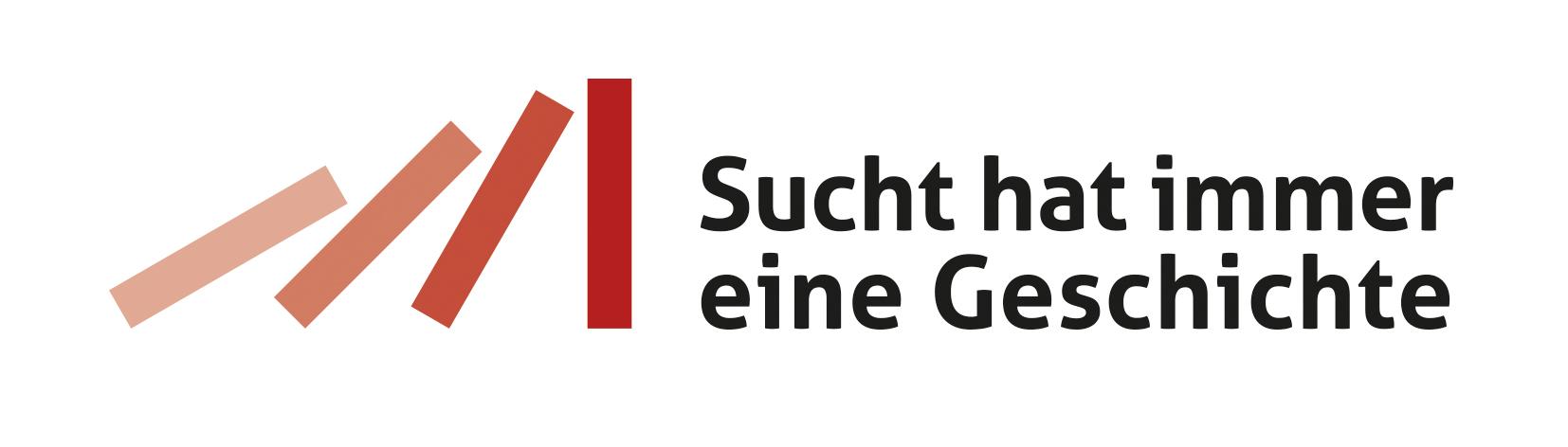 Logo Sucht hat immer eine Geschichte