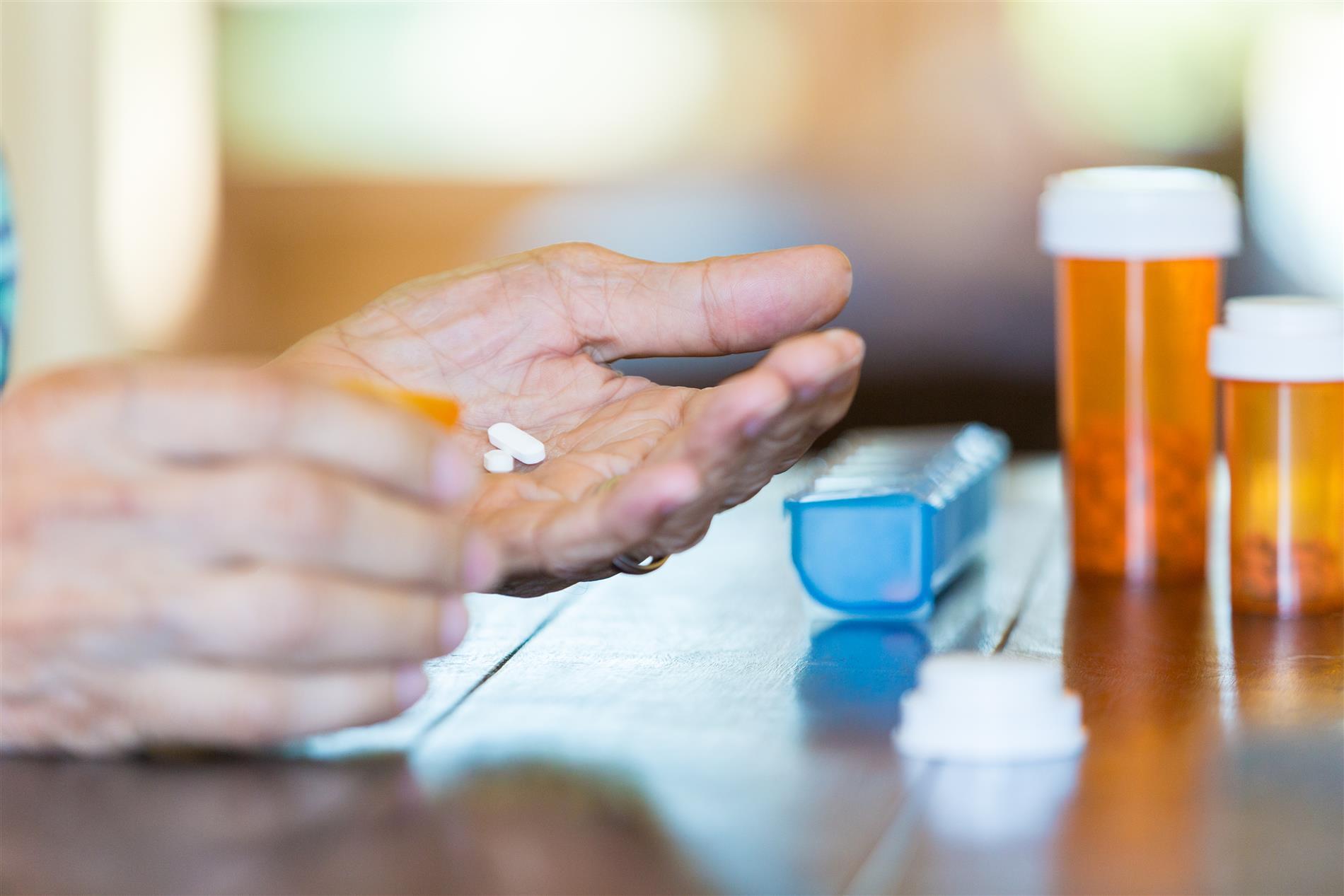 Tabletteneinnahme
